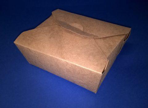 Papír menüs doboz