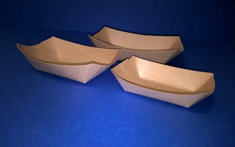 Papírtálca csónak